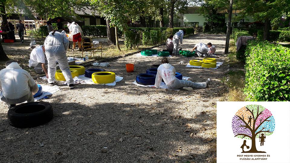 Tcom & Beneford - PMGYIA önkéntes nap